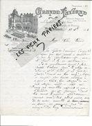 90 - Territoire-de-belfort - BELFORT - Facture GRANDE TAVERNE - Restauration - 1913 - REF 81D - France