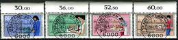 A11-38-5) BRD - Michel 1274 / 1277 Oberrand - Zentrisch OO Gestempelt - Handwerksberufe Jugend 85 - [7] República Federal