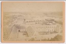 Photo CAB. Lorient. L'Arsenal. Chantiers De Construction Ca1890 - Ancianas (antes De 1900)