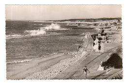 Dept 33,Gironde,Cpsm Soulac Sur Mer,Travaux De Défense Contre L'Océan Aux Huttes - Soulac-sur-Mer