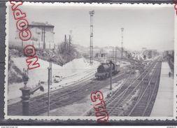 Au Plus Rapide Vue De La Gare De La Blancarde à Marseille * Locomotive - Trains