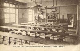 N°60515 -Rouen -école Pratique De Commerce Et Industrie -salle De Sciences- - Rouen