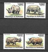 Burundi 2011 Animals - Rhinoceros MNH (T1341) - Rhinozerosse