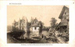 14 CHATEAU DE SAINT-GERMAIN-DE-LIVET - France