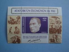 1988 Turquie Yv BF 29  ** Atatürk  Scott Xx Michel B27  SG Ms 3021 - 1921-... République