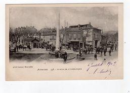 Aubagne 598 - Place De L'obélisque , Précurseur , Bien Animée -13 - - Aubagne