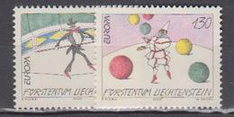 LIECHTENSTEIN           2002          N .   1224 / 1225        COTE    . 00  Euros - Liechtenstein