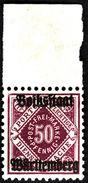 WURTEMBERG  1919 -  Service  N°  99     -  NEUF** - Cote 8.50e - Wurtemberg