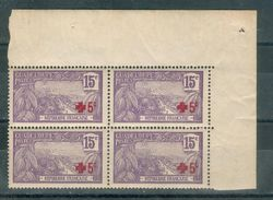 FRANCE ; Colonies ; GUADELOUPE ; 1915-17; Y&T N° 76 ; Bloc De 4 ; Neuf Ttbe - Guadeloupe (1884-1947)