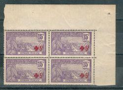 FRANCE ; Colonies ; GUADELOUPE ; 1915-17; Y&T N° 76 ; Bloc De 4 ; Neuf Ttbe - Neufs