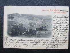 AK HARMANNSCHLAG Grosspertholz St. Martin 1899 Gmünd //// D*29367 - Gmünd