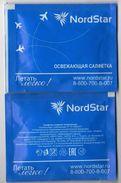Russia 2016 Refreshing Cloth Russian Airline Nordstar - Reclameservetten
