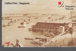 SINGAPOUR - $10 - Clifford Pier - Singapour