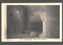 Alexandrie - Entrée Des Catacombes - Alexandrie