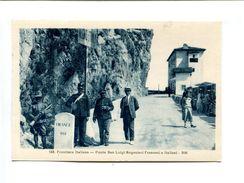"Cp - DOUANE - Frontiere Italienne - ""Ponte San Luigi Boganieri Francesi E Italiani"" - Dogana"