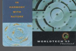 THAILANDE - Worldtech'95 -In Harmony With Nature - Thaïlande