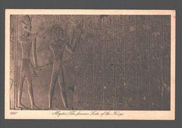Abydos - The Famous Liste Of The Kings - Ed. Lehnert & Landrock, Caïro - Ägypten