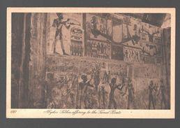 Abydos - Sethos Offering To The Sacred Boats - Ed. Lehnert & Landrock, Caïro - Ägypten