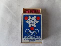 Xes Jeu Olympiques D'hiver Grenoble 1968 - Boites D'allumettes