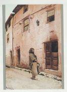 VISEU, Museu Grão Vasco - A Rua Escura, Pintor / Ilustrador, Aguarela De ALBERTO DE SOUSA  (2 Scans) - Viseu