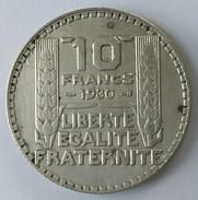10 Francs TURIN 1930 - - France