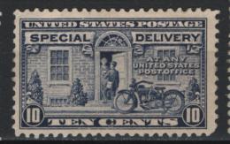 Stati Uniti 1922 Espressi Unif.E12 */MH VF/F - Expres & Aangetekend