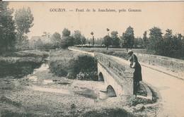 CPA : GOUZON  Pont De La Jonchères - France