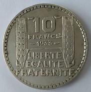10 Francs TURIN 1933 - - France