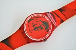 Watches : SWATCH - SPECIAL The Rose - Nr. : GR136 - Original  - Running - Excelent Condition - 1998 - Watches: Modern