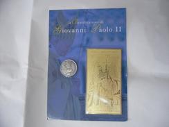 BOLAFFI-GIOVANNI PAPA PAOLO II: BEATIFICAZIONE 2011 MEDAGLIA + BANCONOTA Laminata - Vatican