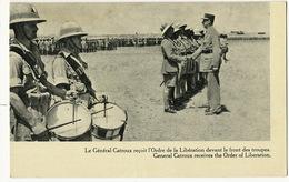Le General Catroux Né à Limoges Reçoit L' Ordre De La Liberation Des Mains Du General De Gaulle France Libre - Guerra 1939-45