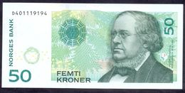 Norway 50 Kroner 2015 UNC - Norvegia