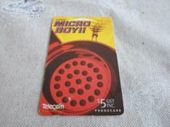 NEW ZEALAND - Nice Magnetic Phonecard - New Zealand