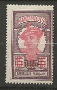 MARTINIQUE N° 88 NEUF*  CHARNIERE TB  / MH - Martinique (1886-1947)