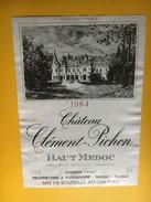 6197 - Château Clément-Pichon 1984 Haut Médoc - Bordeaux