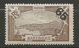 MARTINIQUE N° 90 NEUF* TRACE DE CHARNIERE TB  / MH - Martinique (1886-1947)