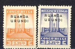 Ruanda-Urundi Nr 122-123  Neufs  -  Postfris - MNH  (XX) - 1924-44: Nuovi