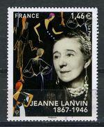FRANCE 2017 / JEANNE LANVIN  Obl.ronde - France