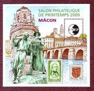 FRANCE Bloc CNEP N° 53 - Salon Philatélique De Printemps à Mâcon - Neufs ** - 2009 - CNEP
