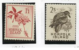 1953 - NORFOLK ISLAND - Mi. Nr. 27+32 - NH -  (UP.70.3) - Isola Norfolk