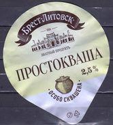 Belarus 2016 Yogurt A Dairy Product - Andere