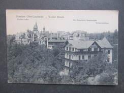 AK DRESDEN OBER LOSCHWITZ Weisser Hirsch Ca.1910 //// D*29463 - Dresden