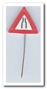 VERKEERSBORD - Pins