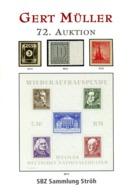72. Gert Müller 2012 - SBZ  Sammlung Ströh  BPP - Auktionskataloge