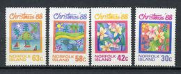 1988 - NORFOLK ISLAND - Mi. Nr. 443/446 - NH -  (UP.70.4) - Isola Norfolk