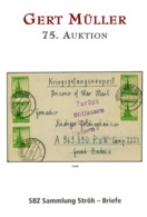75. Gert Müller 2012 - SBZ Sammlung Ströh (BPP) Briefe - Auktionskataloge