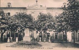 FRANCE C.P.A  81 TARN   LAVAUR  L'hospice (en L'état) - Lavaur