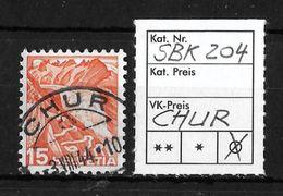 1936-1938 NEUE LANDSCHAFTSBILDER → SBK-204, 3.VIII.44  ►CHUR◄ - Gebraucht