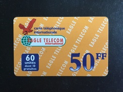 CARTE PREPAYEE EAGLE TELECOM - Prepaid Cards: Other