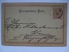 AUSTRIA - 1891 Postkarte Gmunden Nach Wien - Storia Postale